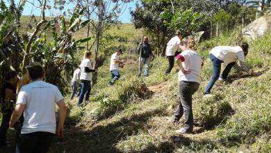 Corredor Ecol�gico apresenta plantios em S�o Jos�