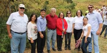 Evento realiza plantio de mudas para a proteção de nascentes do Vale do Paraíba